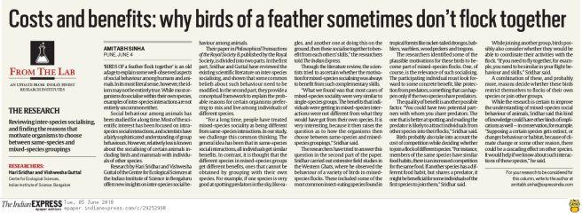 Sridhar-Guttal-Indian_express-Coverage
